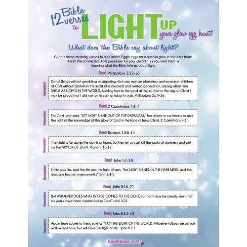 Medium Crop Of Bible Verses About Light