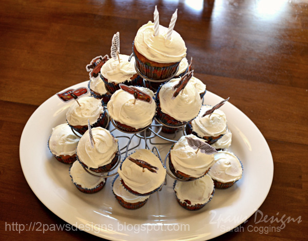 Cars Birthday Party Cupcakes