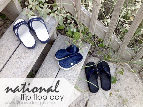 National Flip Flop Day 2015 + Mabel's Labels Discount (today only!)
