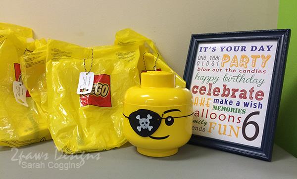 LEGO Pirate Birthday Party