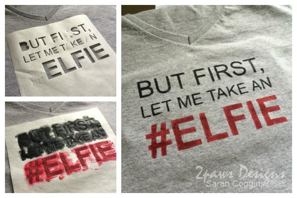 Christmas in April: the #Elfie Shirt