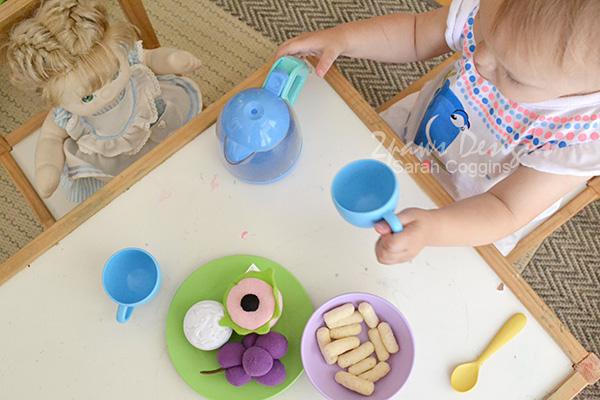 Toddler Tea Party Fun