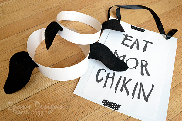 This is a picture of Gutsy Chick Fil a Cow Appreciation Day Printable