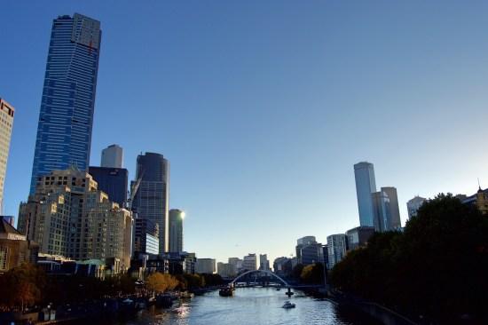 Melbourne dan Sungai Yarra.