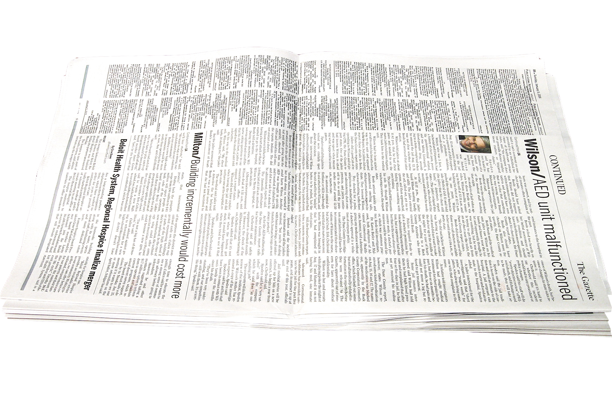 Fullsize Of Rolled Up Newspaper