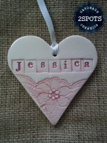 Personalised Handmade Heart