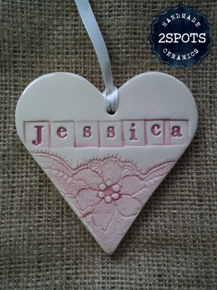 Personalised Handmade Heart