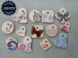 2Spots Ceramics Jewellery Pendants