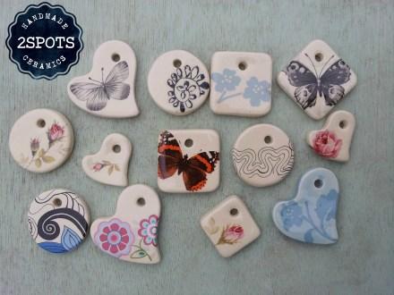 2Spots Ceramics Jewellery Pendants