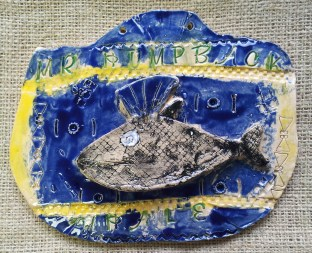 Whale Hanging Tile