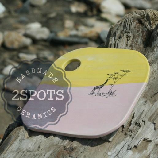 2SPots Rhubarb & Custard Platter