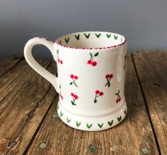 Hen Party hand-painted cherry mug