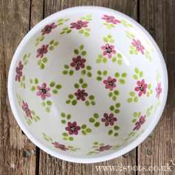Flowered Bowl