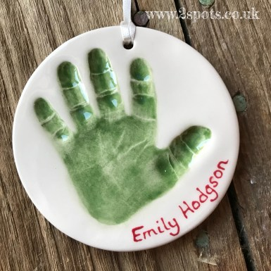 Imprint Decoration Dark Green