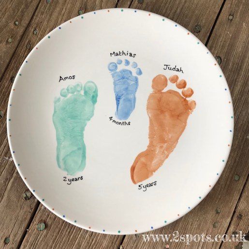 Three Brothers Plate
