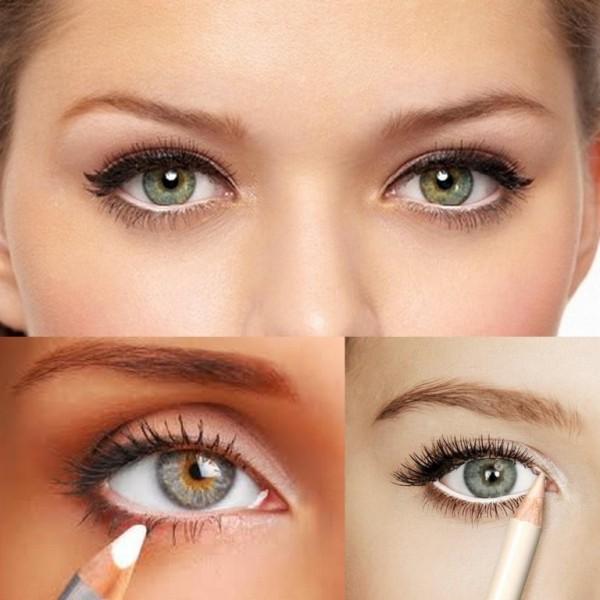 Как правильно красить узкие глаза чтобы они казались больше
