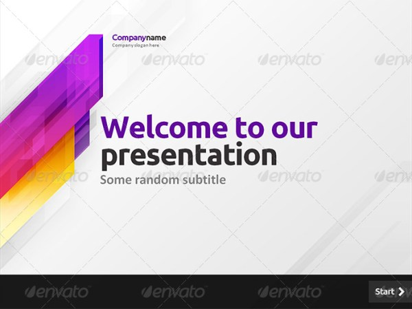 The Fast Motion Powerpoint Template