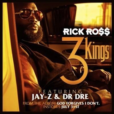 Rick Ross - 3 Kings Artwork