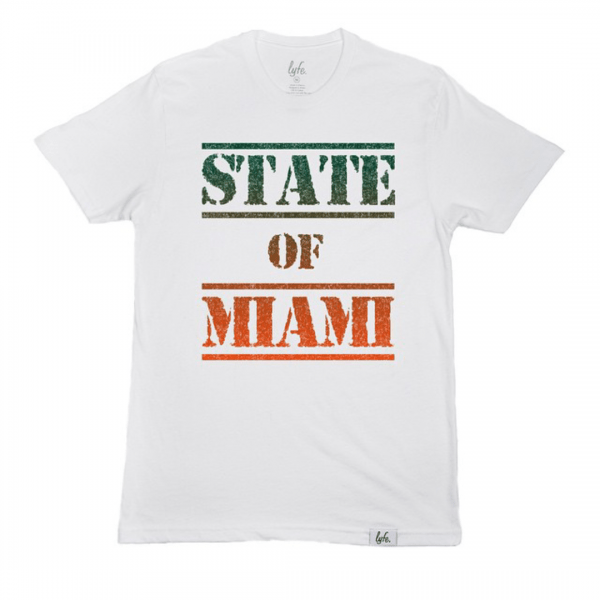 Gear: STATE OF MIAMI by LyfeBrand + SolesBySire