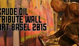 Crude Oil Tribute 2015 Art Basel