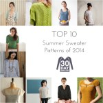 The Top 10 Summer Sweater Patterns of 2014