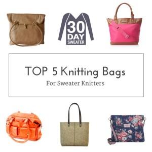 top 5 knitting bags