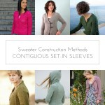 Sweater Construction Methods: Contiguous Set-In Sleeve