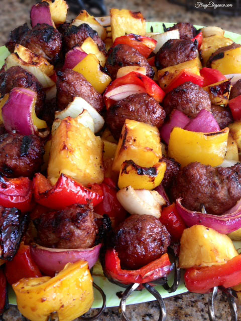 Quick BBQ Kabobs-10 Fast and Easy Dinner Recipes for Busy Families.