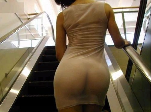 unknown sexy outfits in public