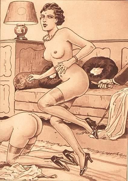 spanking artwork