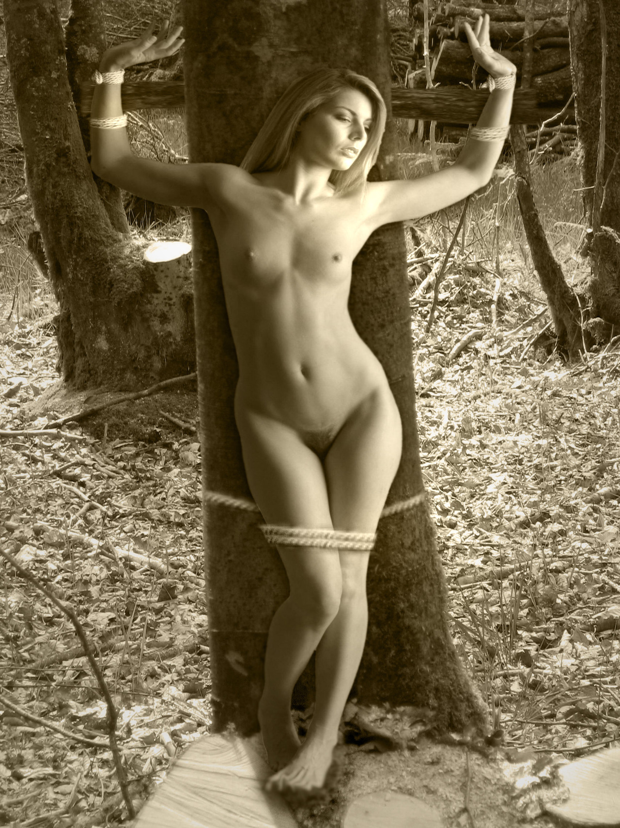 jewish girls stripped naked