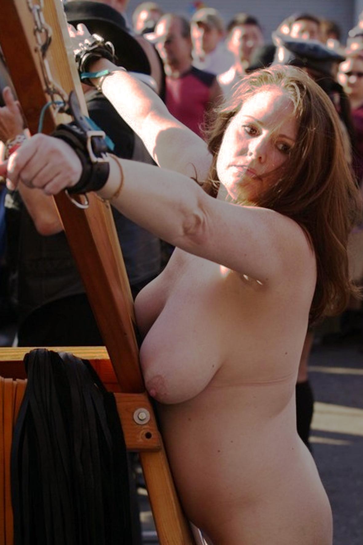 Public humiliation nude