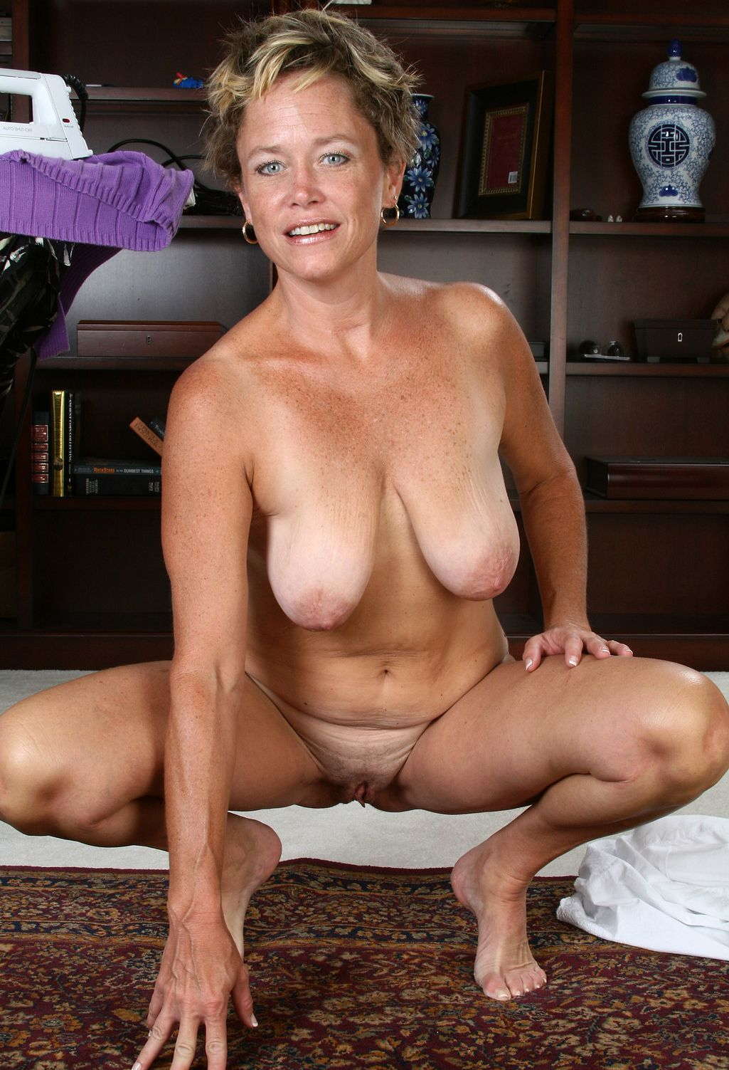 Full frontal nudity mature women