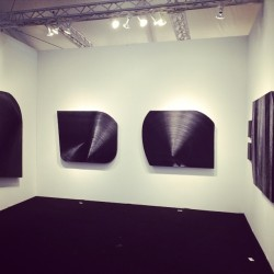 Booth installed. Hoping for a good weekend! (at artMRKT Hamptons Art Fair)