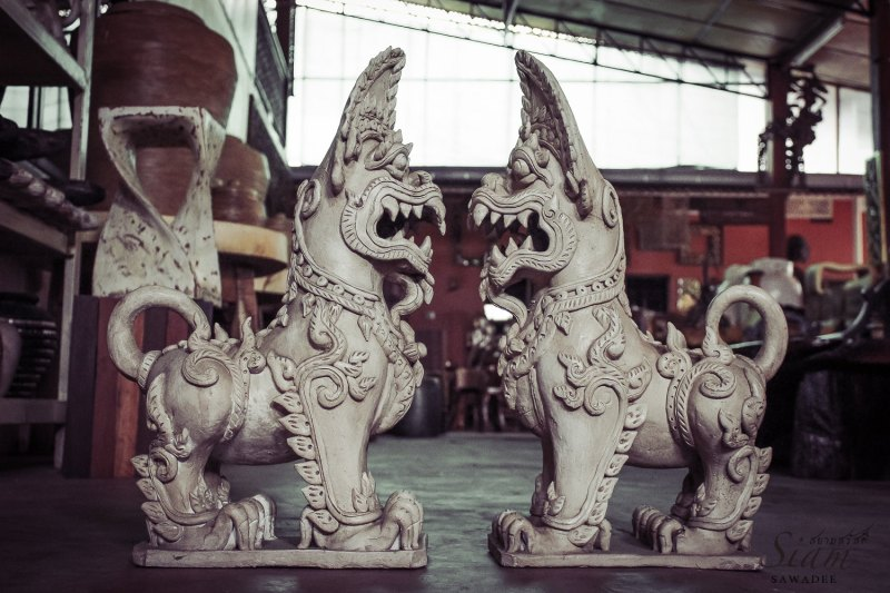 Large Of Foo Dog Statue