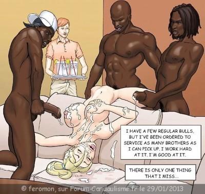 interracial wife captions