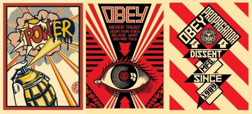 sipping-a-drink:  Obey compilation
