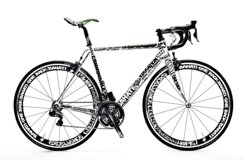 originalgiantcontent:  Bike graphics I designed for Cannondale and The Bahati Foundation.