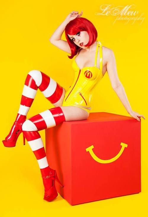 Melissa Drew as Ronald McDonald