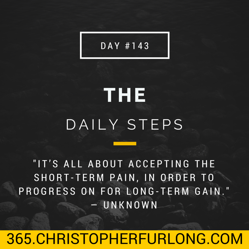 Day #143: The Daily Steps