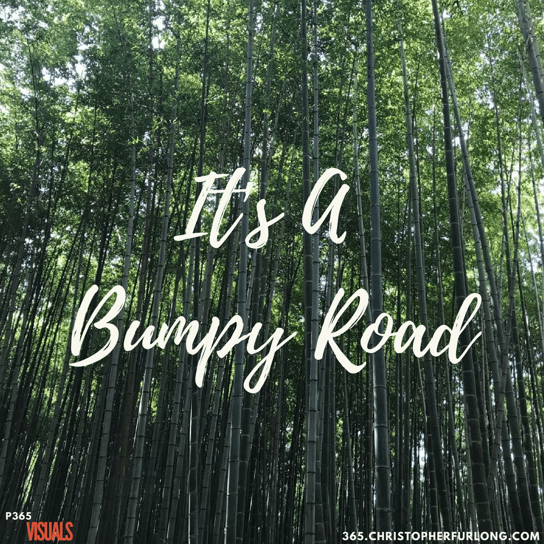 Day #106: It's A Bumpy Road