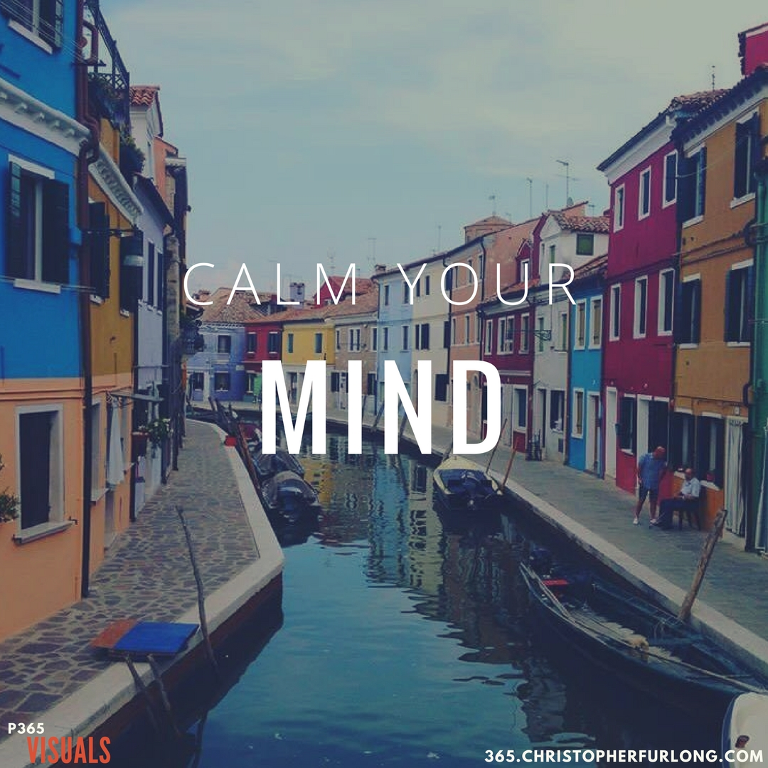 Day #314: Calm Your Mind