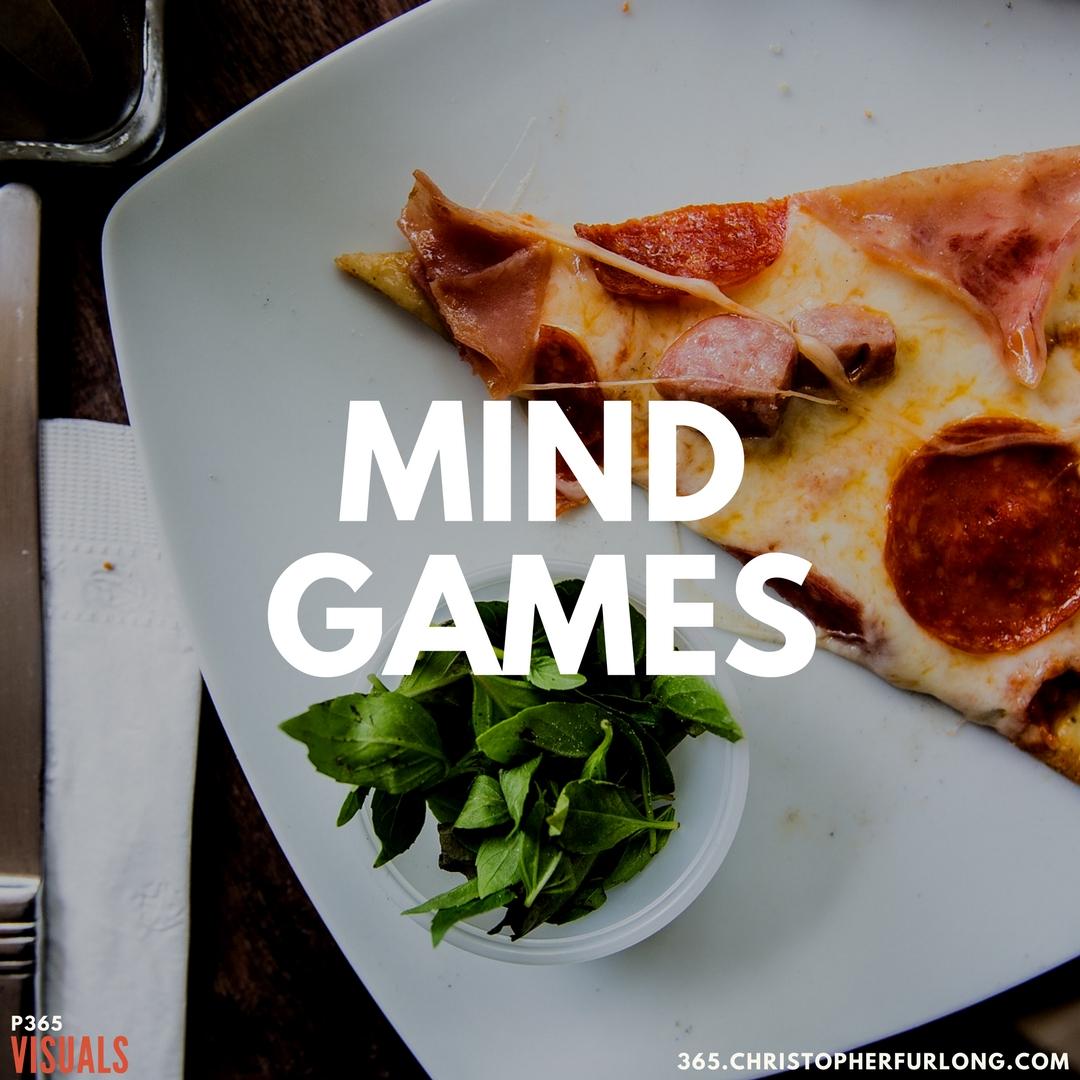 P365 2018: Day #121: Mind Games