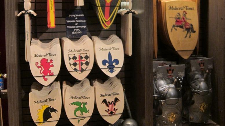 Shopping at Medieval Times Atlanta