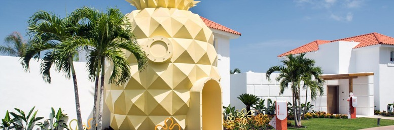 Pineapple hotel room at the Nick Resort Punta Cana