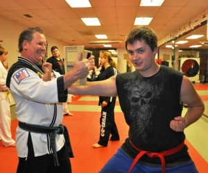 181.  Learn to Break a Board at Tiger Martial Arts