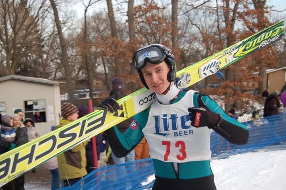 Ski Jump Tournament Participant at Norge Ski Club
