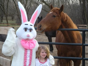 Celebrate with the Easter Bunny in Barrington, Illinois