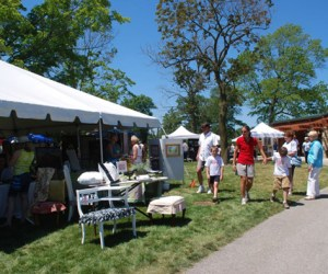 22.  Get Artsy Outdoors at Art in the Park