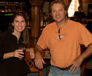 Jennifer and Mike Kainz enjoy the fruits of their labor - Photographed by Julie Linnekin